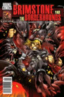 Brimstone and The Borderhounds   Issue 9 Cover