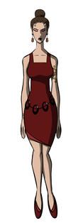 Sasha Animated Character