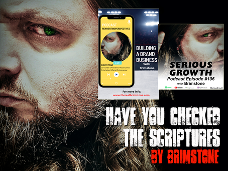 Have You Checked the Scriptures?