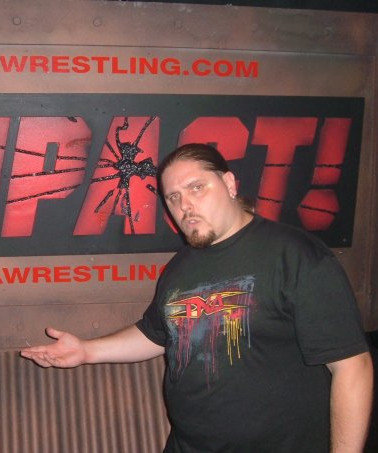 Brimstone   Backstage at TNA Wrestling Impact