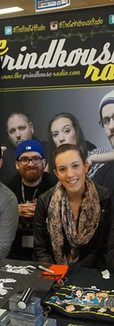 The Grindhouse Radio Cast at EM Con