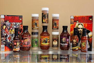 Brimstone | Brimstone's Award Winning Sauces & Seasoning