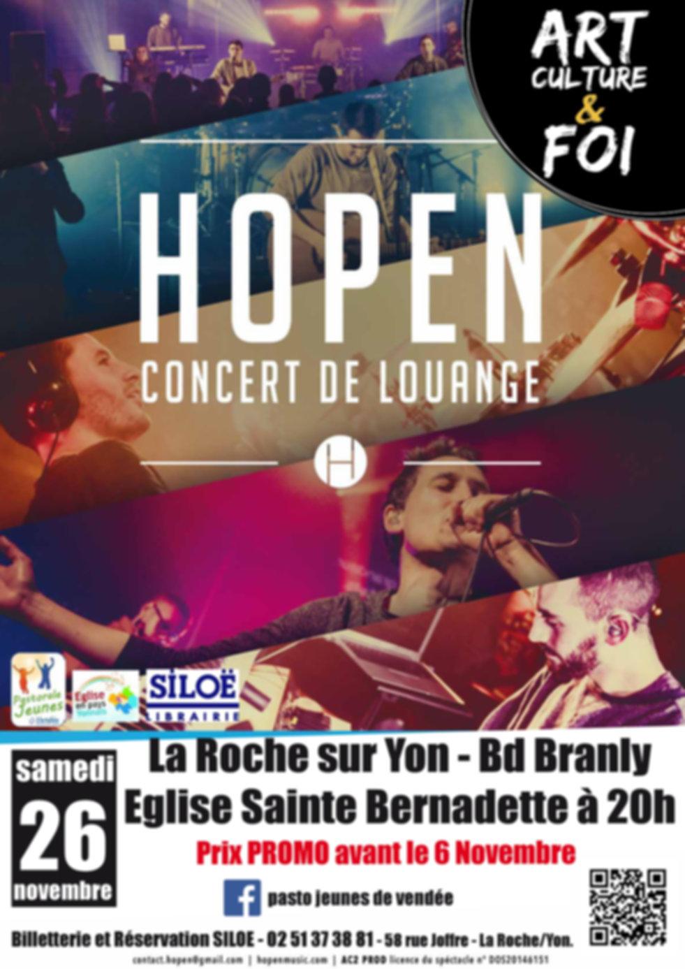 Hopen concert roche yon 2016