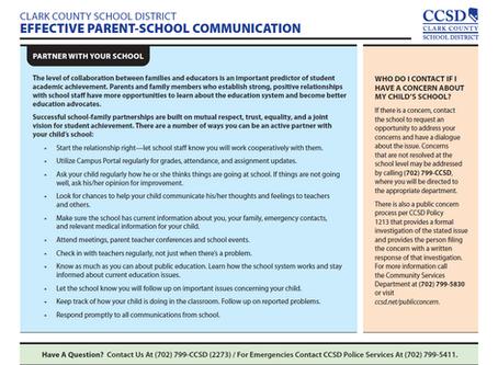 Parent School Communication