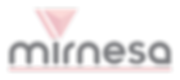 Mirnesa Logo - Pink Gray On Clear.png