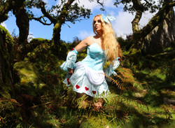 Alice in Wonderland - Topless Versions Available