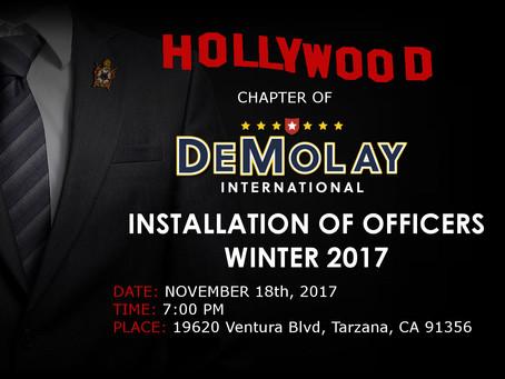 Hollywood Installation!