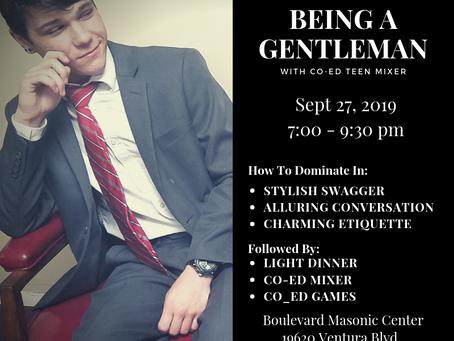 The Art of Being a Gentleman - Seminar