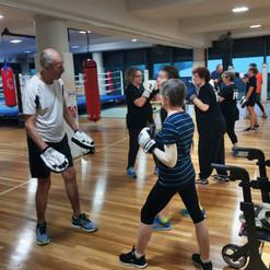 boxing class, pcyc milton