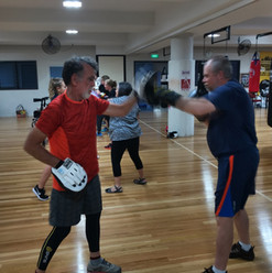 non contact boxing at the pcyc, wednesdays at 11:30am