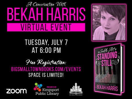 WATCH: A Conversation with Bekah Harris (Presented by Kingsport Public Library)