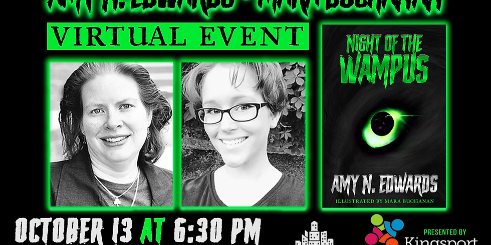 A Conversation with Amy N. Edwards & Mara Buchanan (Virtual Event with Kingsport Public Library)