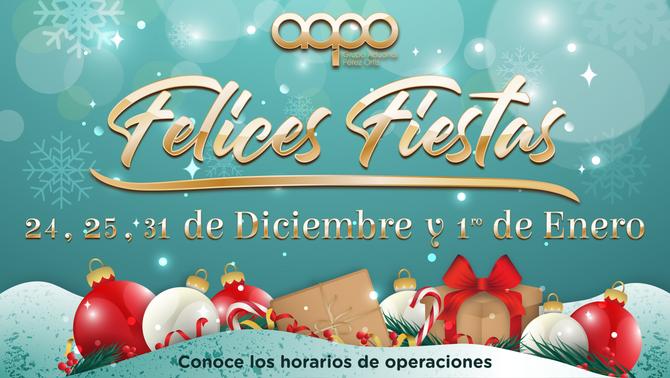 Horarios de Aduanas para Navidad 2018 y Año Nuevo 2019