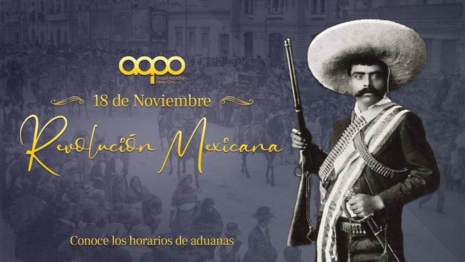 Aduana Mexicana - Horario 18 de Noviembre de 2019