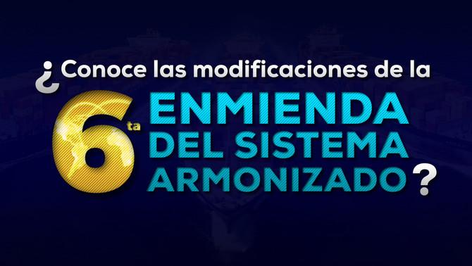 Sexta enmienda sistema armonizado