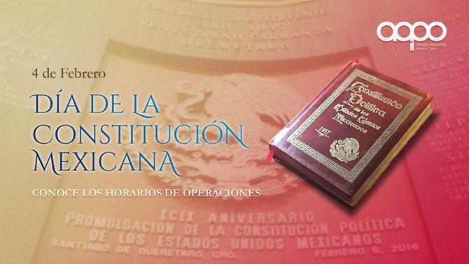 Aduana Mexicana - Horario 4 de Febrero de 2019