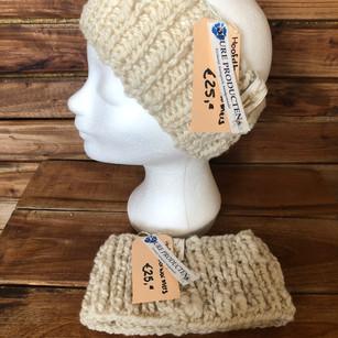 Oorwarmers/hoofdband.
