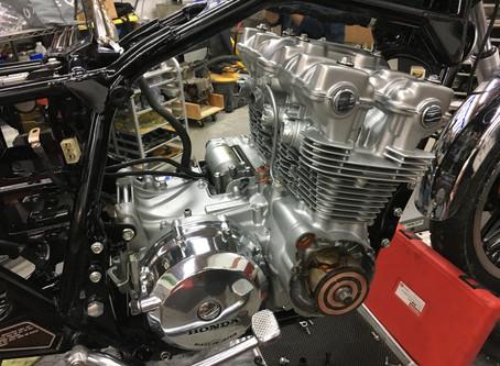 We restore a pair of 1981 Honda CB750C Customs