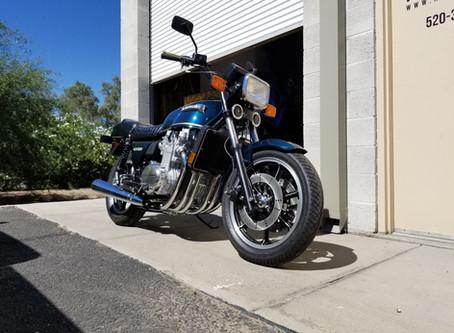 """The """"Florida"""" 1979 Kawasaki KZ1300 Project"""