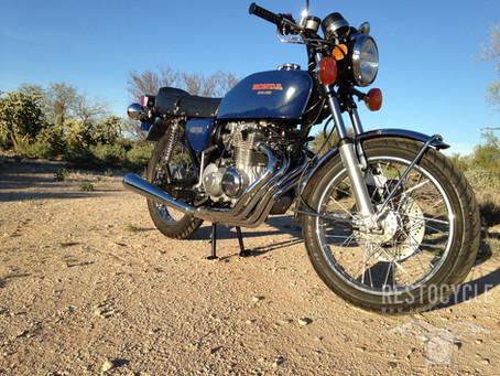 1977 Honda CB400F Restoration