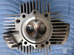 Ducati Cylinder Head Vapor Blasted