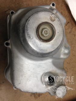 Honda Clutch Cover Vapor Blasted