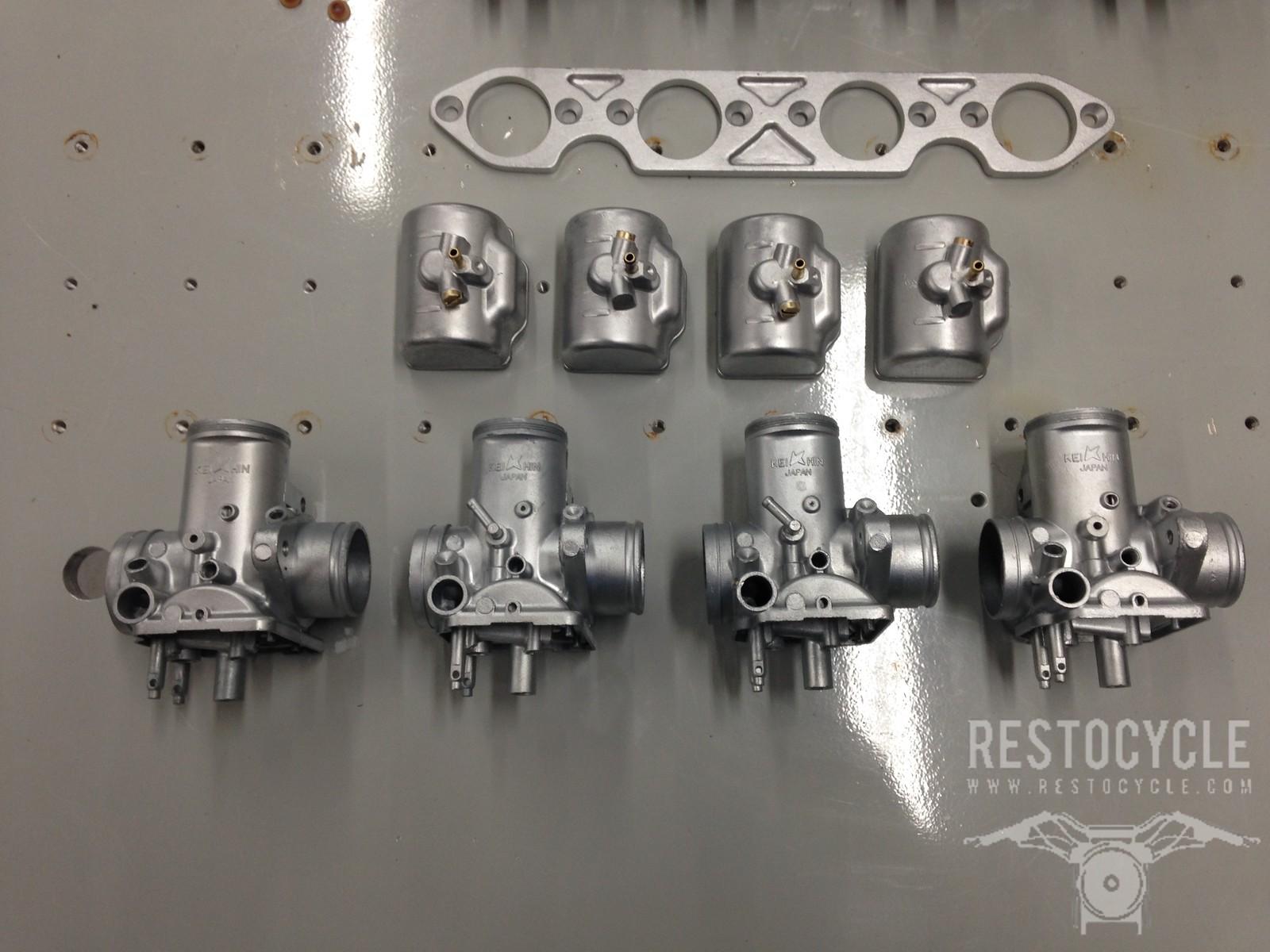Keihin Carburetors Vapor Blasted