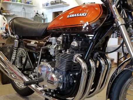1973 Kawasaki Z1 replica build!