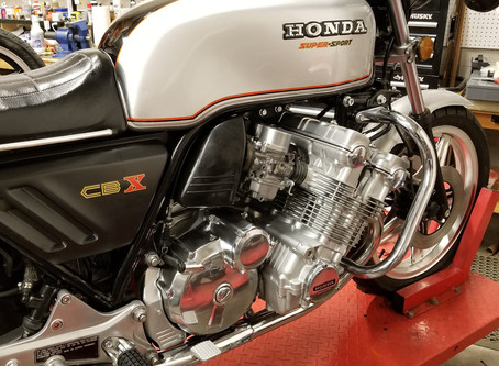 Who doesn't love a '79 Honda CBX?