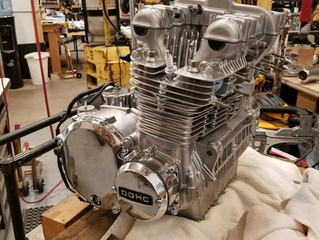 Vapor Blast and Rebuild a Z1 Engine