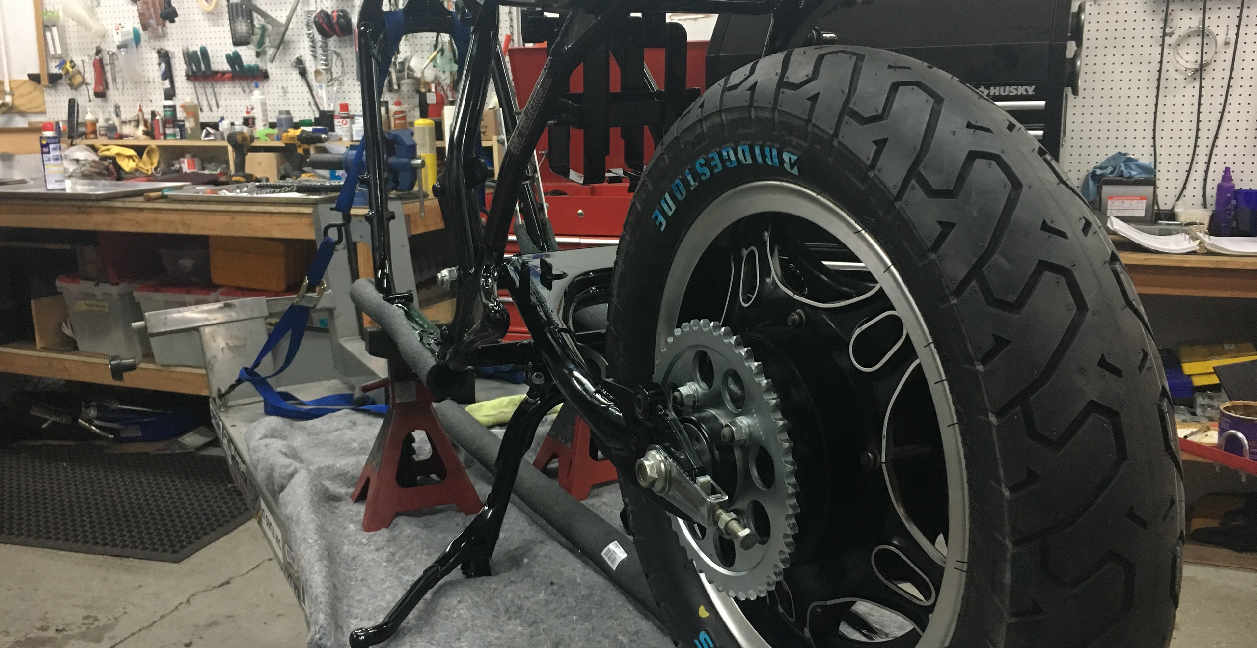 Gotta have these raised white letter tires on these Customs.