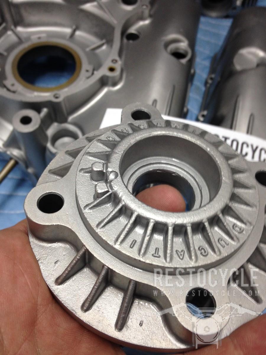 Ducati Pantah Parts Vapor Blasted