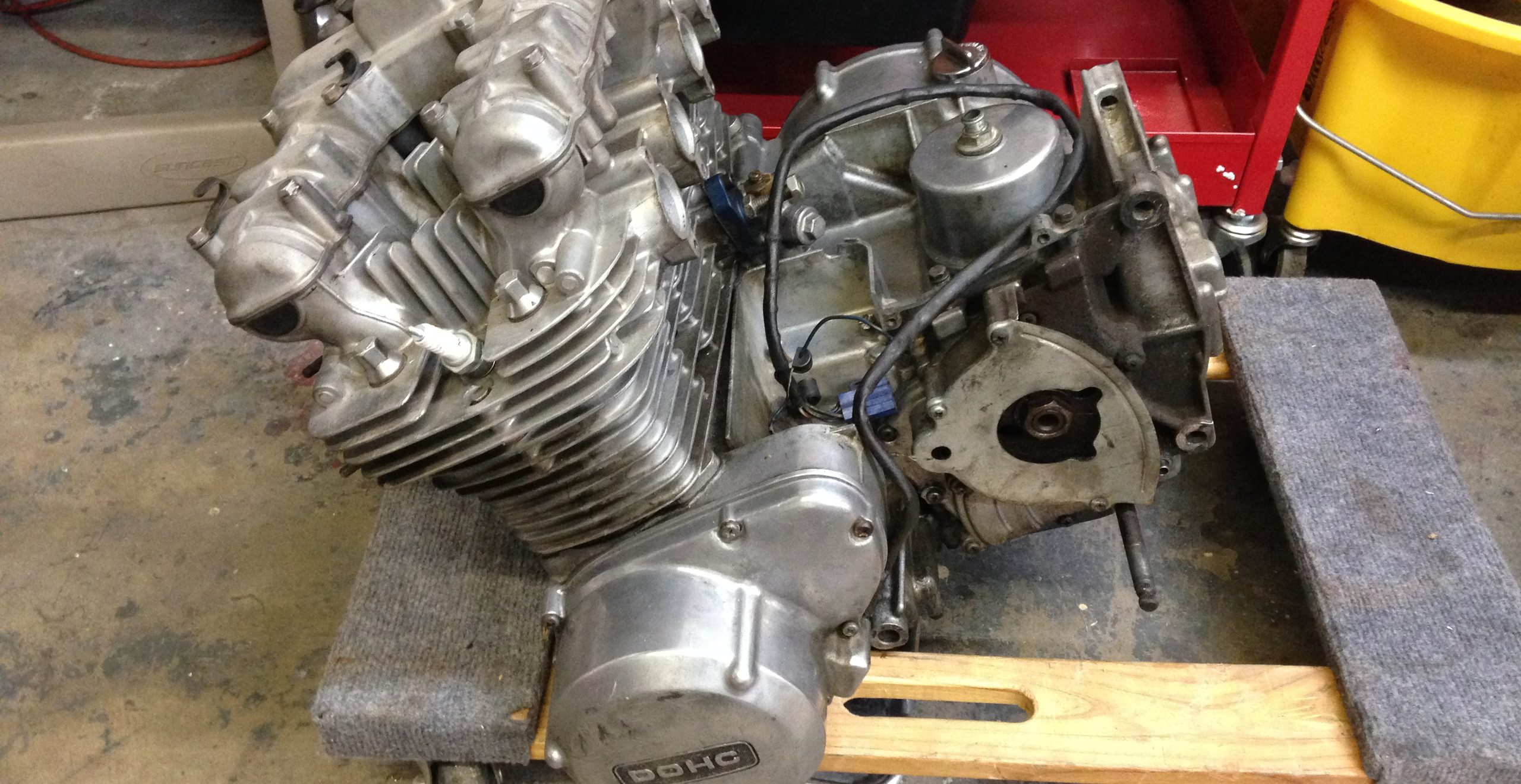 Kawasaki Z1 Restoration