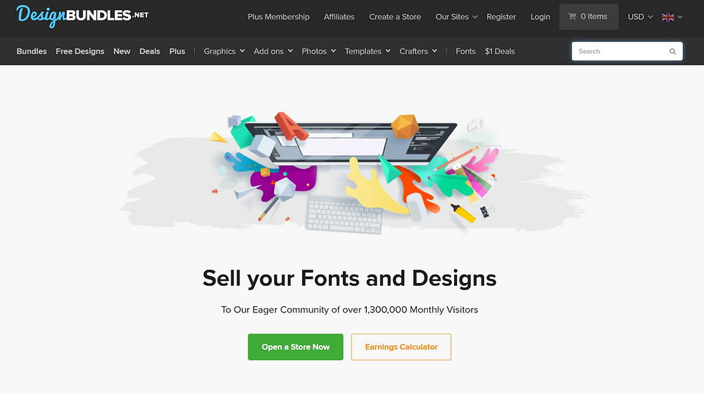 Design Bundles, DesignBundles