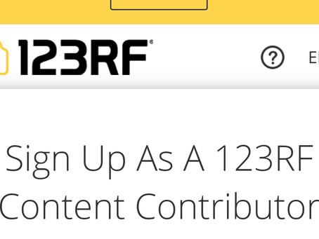 Как зарегистрироваться на 123RF