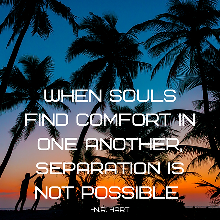when souls find comfort in one another,