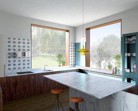 Maison BEAUCAMPS, Gouzeucourt by Elvira Guardia