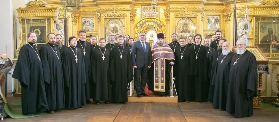 Встреча с временно исполняющим полномочия Главы городского округа Солнечногорк