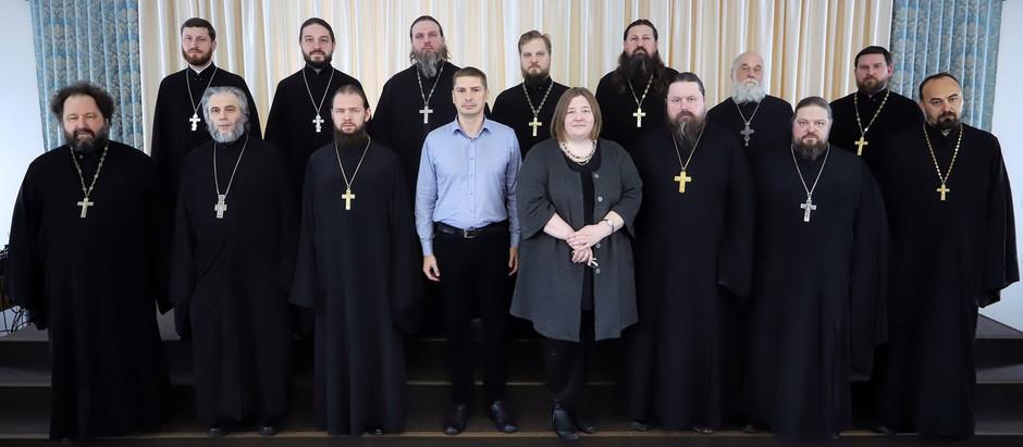 Выездное заседание координационного совета Московской епархии и Мособлнаследия