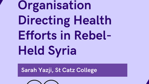 The Grassroots Organisation Directing Health Efforts in Rebel-Held Syria