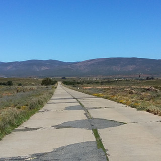 58. Old Cement from Oudtshoorn to Calitzdorp