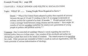 Textbooks, Part 2: Socialism, Islam, and Pornography