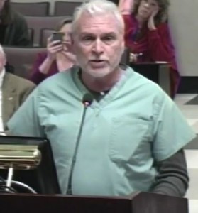 J. Lee Douglas at School Board Meeting Public Comment 1/20/15