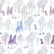 Snow Queen fabric