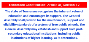 Fully Fund Public Schools in Tennessee