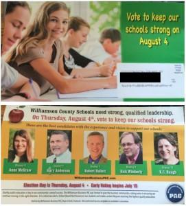 Williamson Business PAC Endorsements