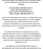 WCRP Endorsements