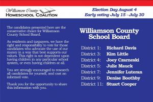 The Williamson County Homeschool Coalition: A Mystery