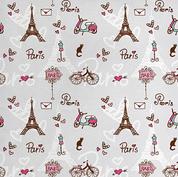 Paris fabric swatch