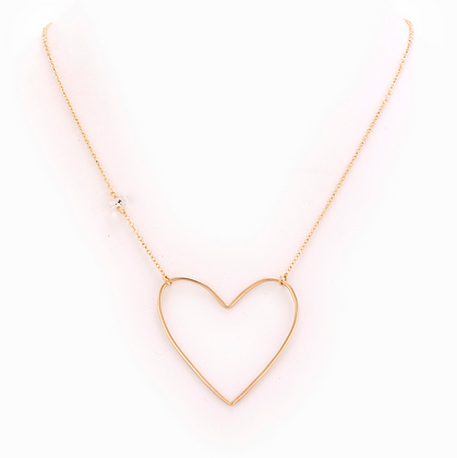 Taylor and Tessier: Evangeline Gold Necklace